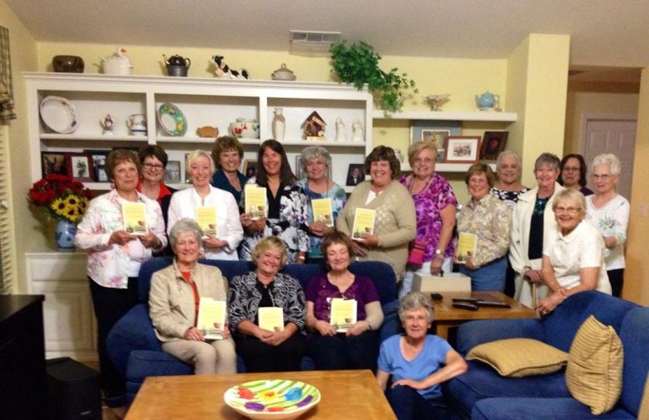 Happy to be with the LitWit Book Club in Livermore, May 2015