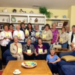 With the LitWit Book Club, reading A Cup of Redemption - May 2015